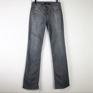 Joe's Jeans Gray Honey Keira Boot Cut Jeans Sz 27